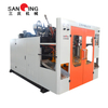 Double-station Semi-automatic Factory Real Shot Blow Molding Machine Production Work